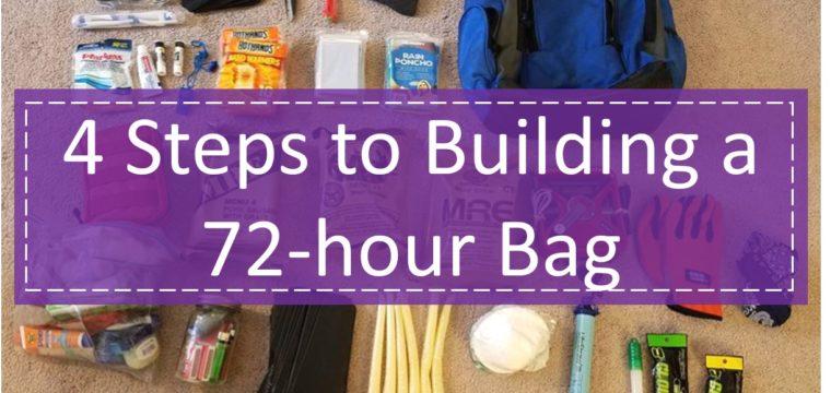 4 Steps to Building a 72-hr Bag