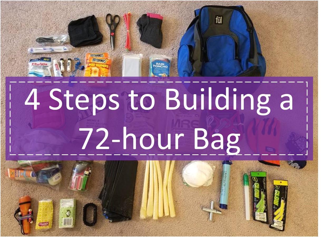 4 Steps to Building a 72-Hour Bag