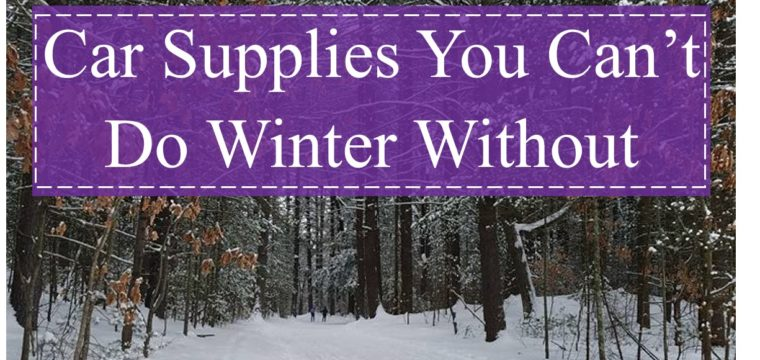 Car Supplies You Can't Do Winter Without
