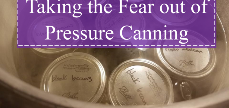 Taking the Fear out of Pressure Canning