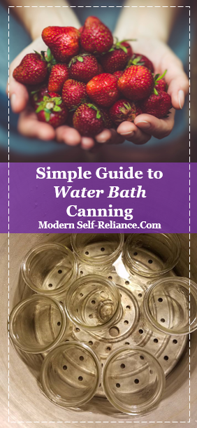 Simple Guide to Water Bath Canning
