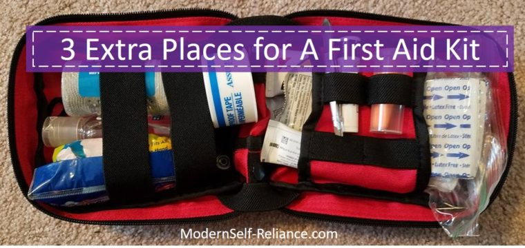 3 Extra Places for A First Aid Kit