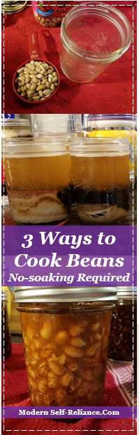 3 Ways to Cook Beans (No pre-soaking required)