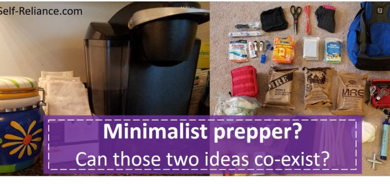 Minimalist Prepper? Can those two idea coexist?