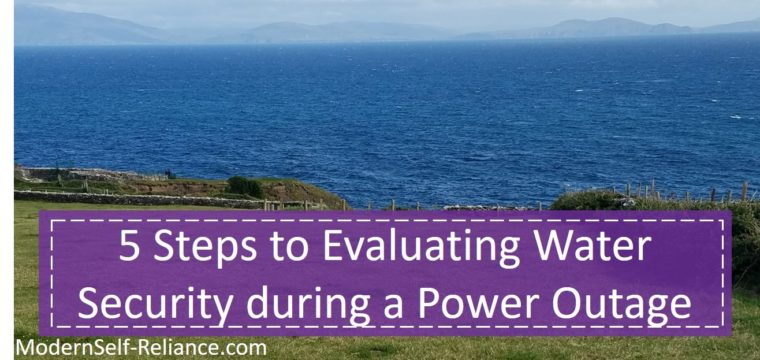 5 Steps to Evaluating Water Security during a Power Outage