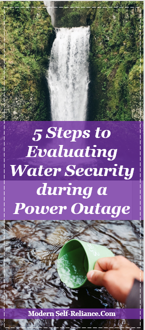 Water security in times of power outages. Are you prepared?
