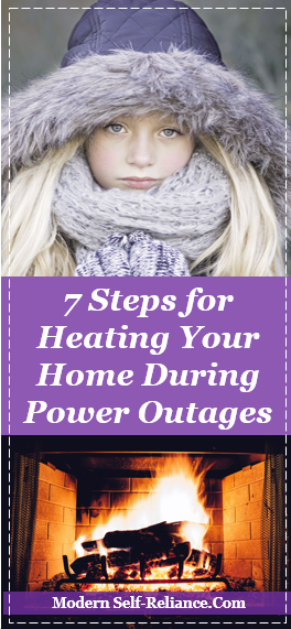 home heating during power outage