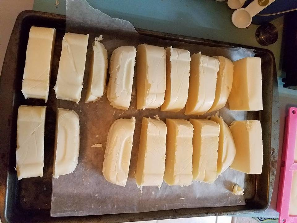 cold procress soap making