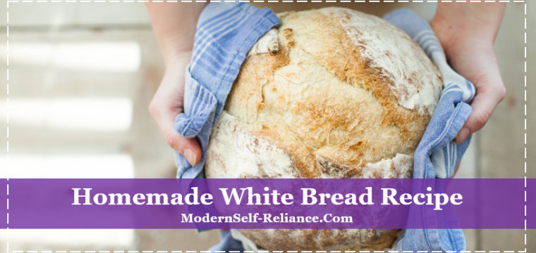 Homemade White Bread Recipe – Tastes Nothing Like Store Bought