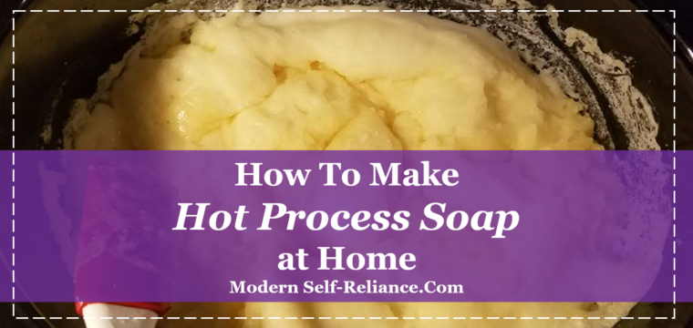How to Make a Hot Process Soap at Home