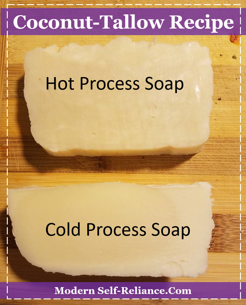 hot process versus cold process soap