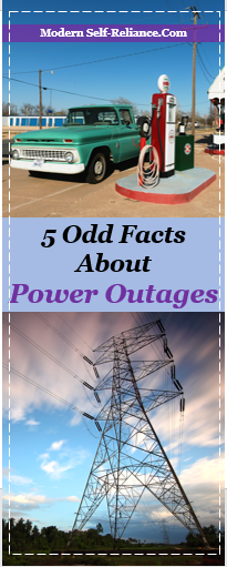 5 Odd Facts about Power Outages | Modern Self-Reliance