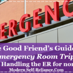 8 Tips When Taking a Loved One to the ER