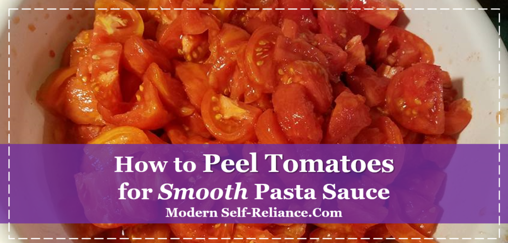 How to Peel Tomatoes for Smooth Pasta Sauce