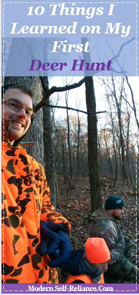 10 Things I Learned on My First Deer Hunt | Beginner's View on Learning to Hunt