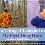 10 Things I Learned on my First Deer Hunt