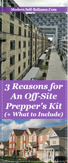 3 Reasons for an Off-Site Prepper's Kit (+ What to Include)