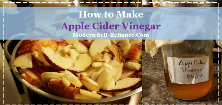 How to Make your Own Apple Cider Vinegar from Apple Peels + Cores