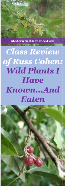 Class Review of Russ Cohen: Wild Plants I Have Known...And Eaten