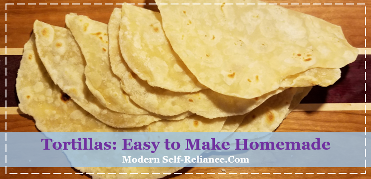 Tortillas: Easy to Make Homemade