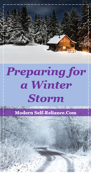 Preparing for a Winter Storm: 10 Alternatives to Going To the Store for Milk and Bread