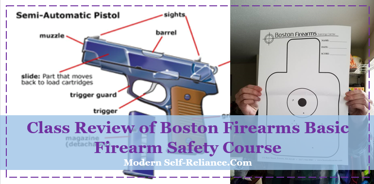 Class Review of Boston Firearm School's LTC Course