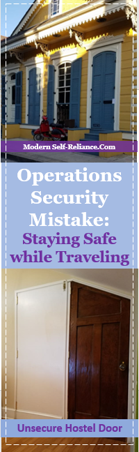 Operations Security Mistake I Made While Traveling