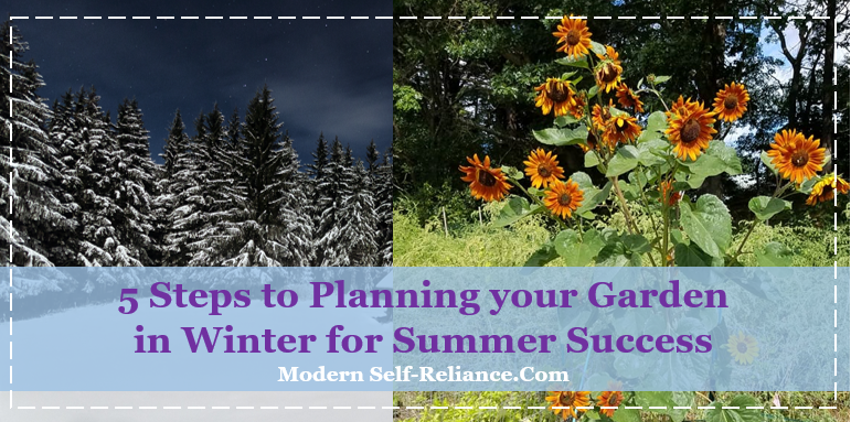 5 Steps to Planning your Garden in Winter for Summer Success