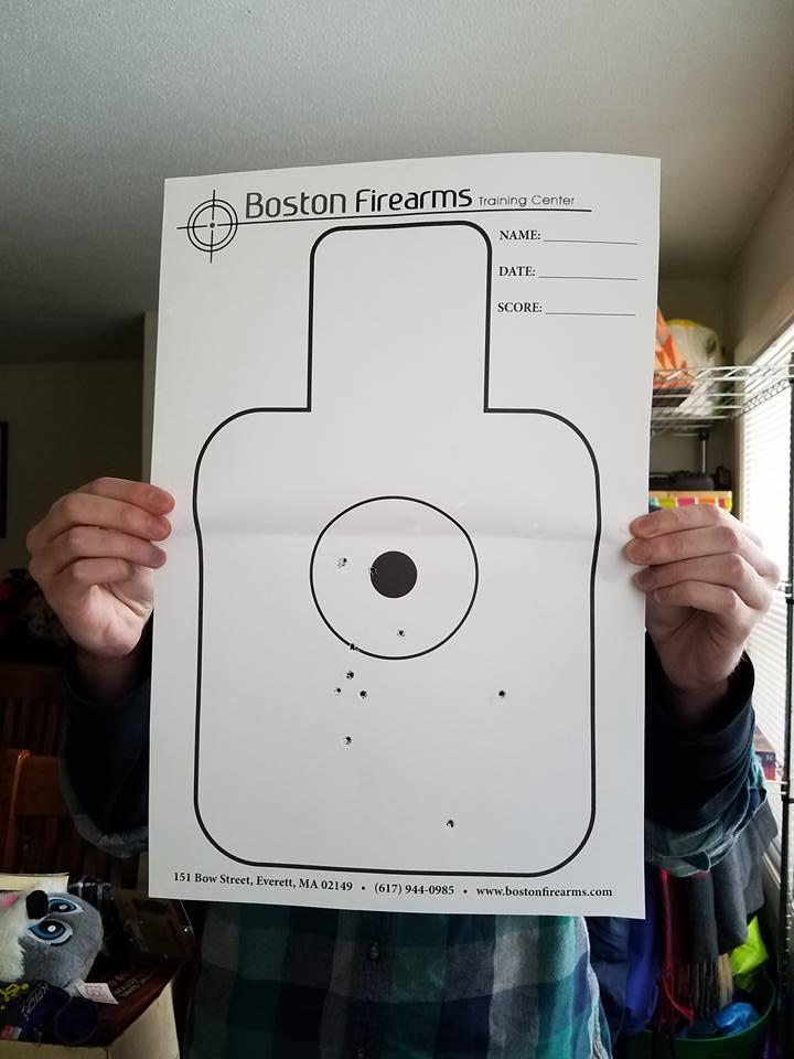 Tim's Pistol Target