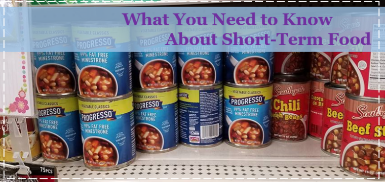 What you Need to Know About Short-Term Food Storage