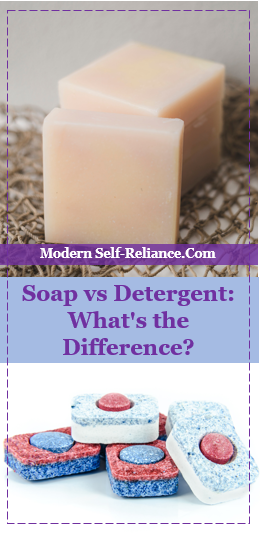 Soap vs Detergent: What's the Difference?