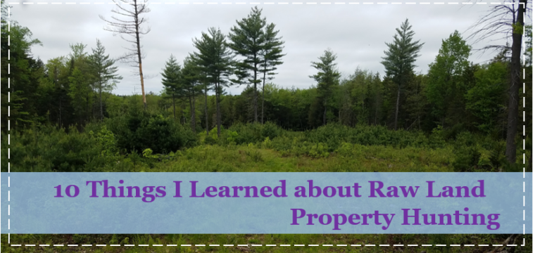 10 Things I Learned about Raw Land Property Hunting