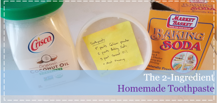 The 2-Ingredient Homemade Toothpaste