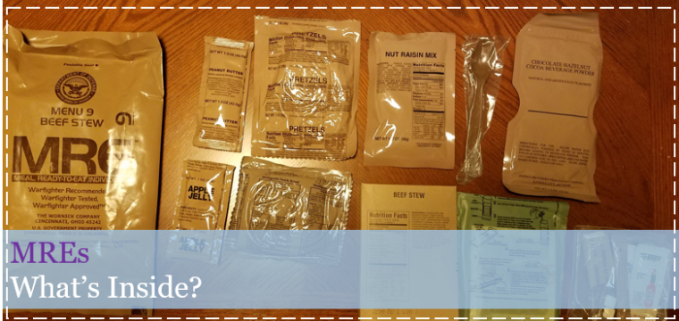 What's in an MRE? Curiosity Ask….